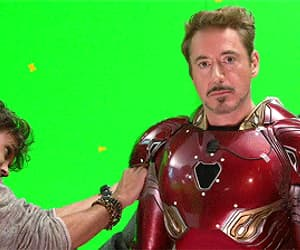 actor, gif, and ironman image