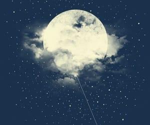 moon, night, and wallpaper image