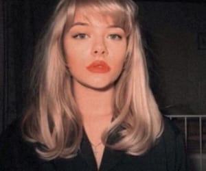 vintage, blonde, and girl image