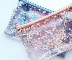stars, glitter, and girly image