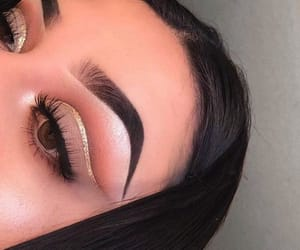 makeup, style, and eyeshadow image