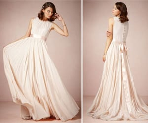bridal, pleats, and sash image