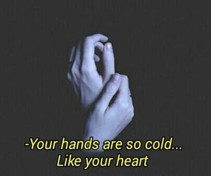 hands, cold, and grunge image