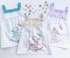 baby clothes, handmade, and repurposed image