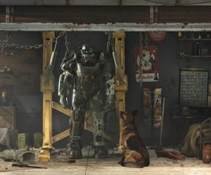dog, post-apocalyptic, and pc image