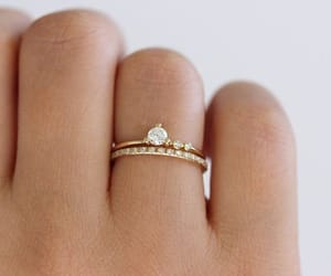 inspiration, wedding, and rings image