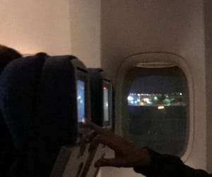 airplane, alternative, and dark image