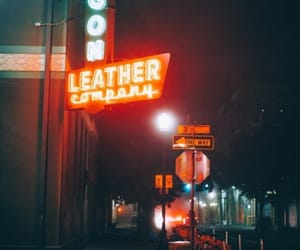 aesthetic, city, and leather image