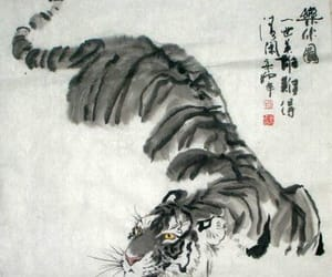animals, art, and asia image