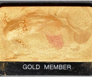 gold, makeup, and aesthetic image