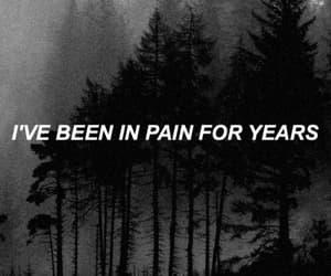 pain and sad image