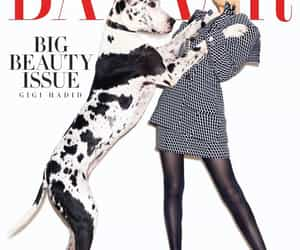 Cover Girl, editorial, and harper's bazaar image