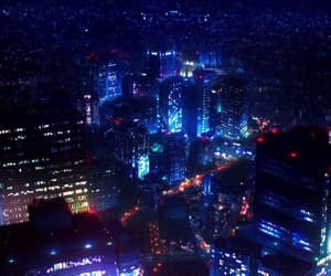 city, colors, and night image