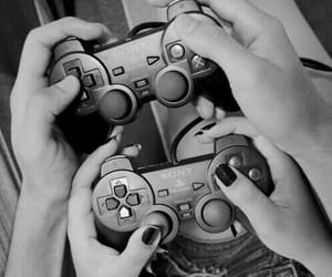 amor, playstation, and couple goals image