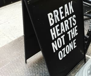 break, hearts, and lettering image