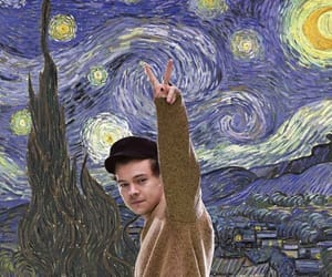 art and Harry Styles image