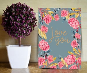 etsy, love card, and wedding card image