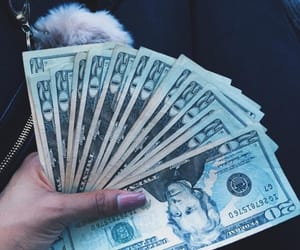 money, tumblr, and nails image