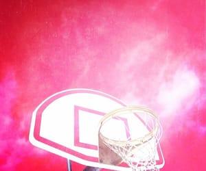 Basketball, pink, and minimalism image