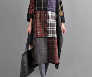 etsy, asymmetrical dress, and long dress image