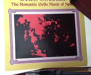 cello, classical music, and vinyls image