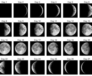 astronomy, black white, and bw image