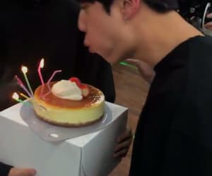birthday, cake, and jin image