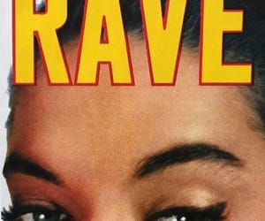 girl, magazine cover, and rave image