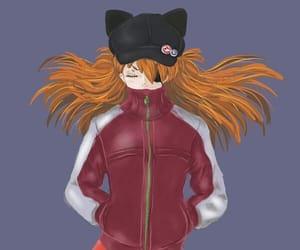 asuka, fanart, and girl image