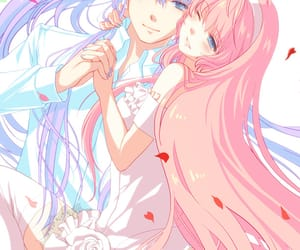 vocaloid, megurine luka, and kamui gakupo image