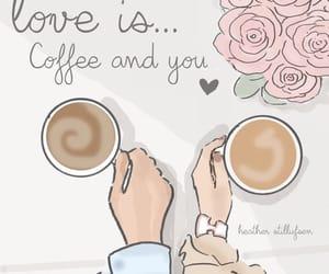 love and coffee image