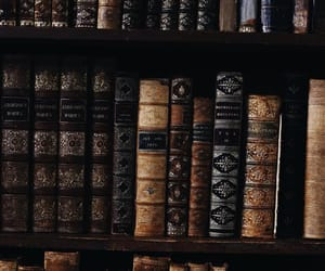 books, aesthetic, and vintage image