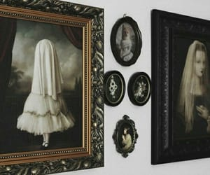 black, vintage, and gothic image