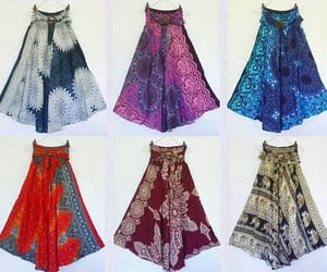 etsy, long skirt, and lightweight image
