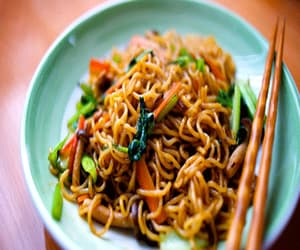 article, noodles, and recipe image