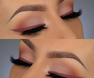 delineador, eyeliner, and eyeshadow image