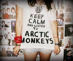 arctic monkeys and keep calm image