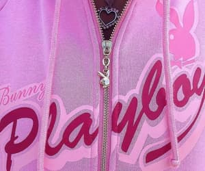 Playboy, pink, and aesthetic image