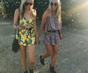boho, jumpsuit, and boots image