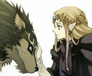 wolf, zelda, and link image