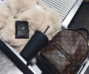 coffee, fashion, and Louis Vuitton image