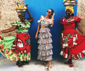 colombia, dress, and cartagena image