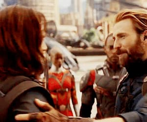 Avengers, captain america, and bucky image