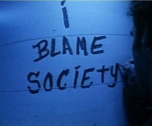 society, grunge, and blame image