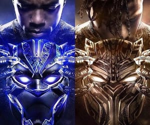 Avengers, Marvel, and black panther image