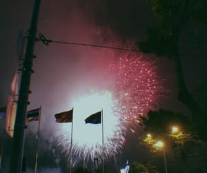 fireworks, retro, and instagram image