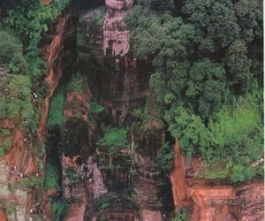 cultural heritage, leshan giant buddha, and chinese monk image