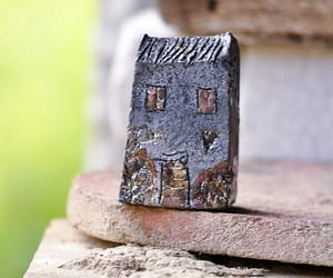art, handmade, and little house image