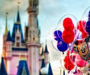 disney, balloons, and disney world image