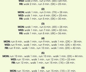 running, tips, and workout image